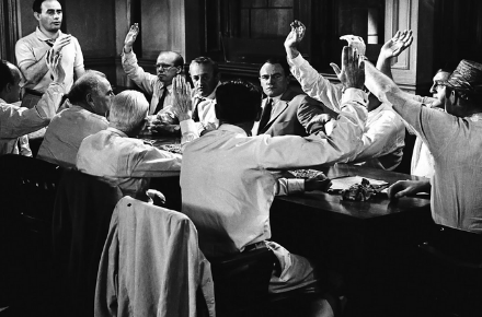 12 hombres en pugna. Una lectura histórica critica de los juicios por jurados