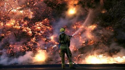 Monitoreo de incendios con imágenes satelitales. Sierras Centrales de San Luis - Agosto 2016