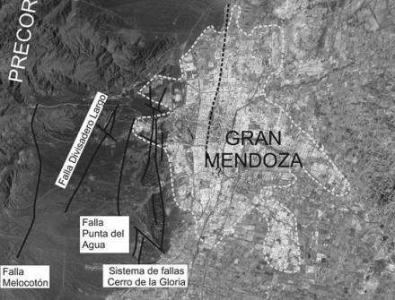¿Construiría su vivienda sobre una falla? Fallas activas y ruptura superficial en la provincia de Mendoza