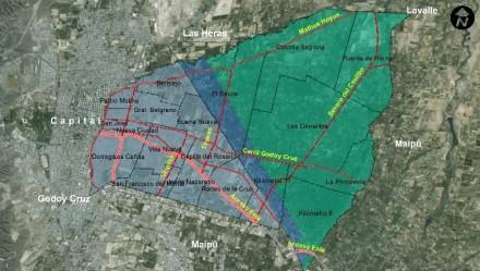 Ordenamiento territorial en el departamento de Guaymallén, Mendoza. Año 2014.